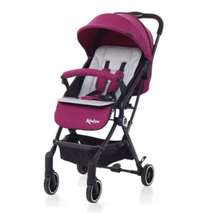Baby stroller High landscape stroller can sit reclining two-way portable baby