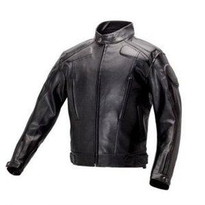 Montar la motocicleta chaqueta de cuero para los hombres Negro PU suave de imitación de la capa de cuero masculino Moto del motorista Bombardero Ropa de abrigo Ropa