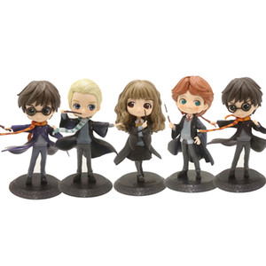 QPosket Movie Character Simpatico Segno Harry Potter Ron Weasley Hermione Granger Draco Malfoy Figure Model Toys 15cm