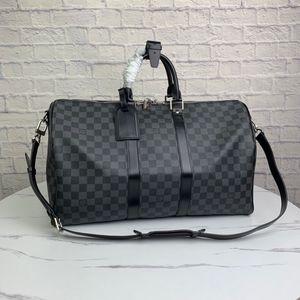 LOU1S VU1TTON NEW 41418 keepall leather women twist handbag messenger shoulder bag pockets Totes Shopping bags Backpack Key Wallets