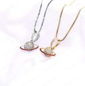 New S925 pure silver hip hop women's star solid pendant full of zircon Chaoren Necklace lover jewelry