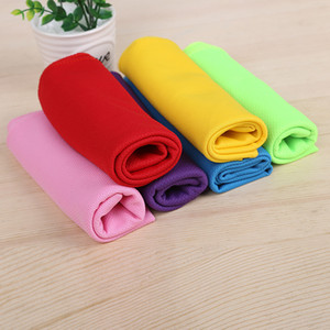 90*30cm Single Layer Ice Cold Towel Cooling Summer Sunstroke Sports Exercise Cool Quick Dry Breathable Cooling Towel for Kids Adut Hot A5802