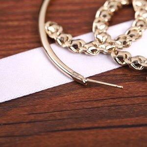 Hot vente crochet de luxe Boucles d'oreilles avec diamant carré boucles d'oreilles en mode aiguille d'argent S925 PS4581 livraison gratuite