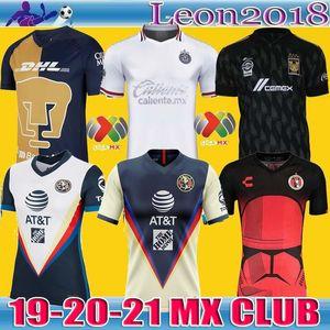 2020 Club America maglie calcio Xolos de Tijuana a casa il terzo UNAM Guadalajara Chivas corredo della Jersey 20 21 Tigres UANL Football Shirts