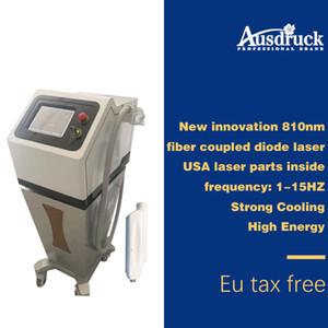 Nouveau 810nm fibre optique diode laser fibre optique épilation pour épilation équipement de fibre laser laser UK expédition DHL
