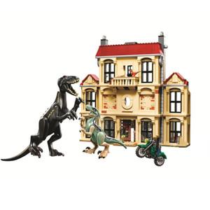 어린이 withou에 대한 Legoinglys 봉제 장난감 선물 10926 모델 10928의 빌딩 블록 벽돌의 10,925 뉴 쥬라기 세계 공룡 세트