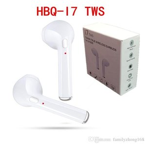 2018 HBQ I7 I7S TWS Twins Wireless Bluetooth Headphones Earbuds Earphones Mini Bluetooth Earbud with MicforiPhone X IOS Android with Retail