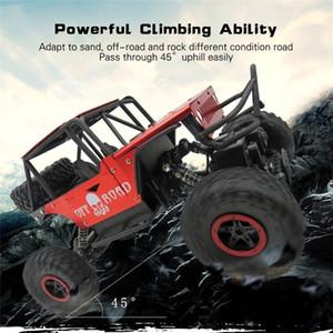 1/18 escalador de control remoto con 4WD 2.4G aleación escalada Off-road Drift RC coche juguetes para niños regalos Mini Rc coche