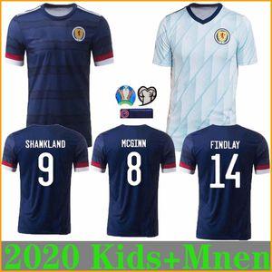 Kids + MEN 2020 2021 Ecosse Football Maillots 20 21 camisetas de futbol maison McGregor McGinn Armstrong Robertson chemises de football de l'équipe nationale