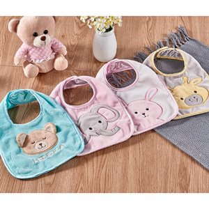 Bibs Burp Cotton Waterproof Saliva Towel Cloths Baby Products Nylon Clasp Bib Newborn 1 Pcs