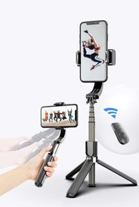 L08 selfie stick handheld stabilizer with Tripod 3 in 1 Remote Handle Holder Selfie Stand Video Stabilizer Tripod for Smartphone