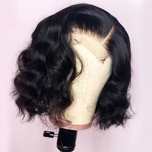 Pre Plucked Bleacherd Knots Full Lace Wig With Baby Hair Loose Deep Wave Brazilian Virgin Front Lace Human Hair Wigs For Black Women