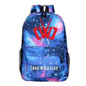 Chad Wilder Lehm Spiel Printed Rucksack Studententasche Frauen Männer Reisetasche Freizeit Schulranzen für Teenager