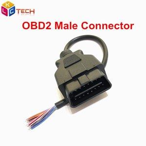 OBD2 Male Cable 16Pin Женский Удлинительный Открытие фуникулера Диагностический интерфейс Разъем OBD IIemale Конвертер Для Женский
