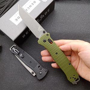 Benchmade 537 Bugout AXIS Osborne faca dobrável lâmina v3 G10 cabo da ferramenta EDC acampamento ao ar livre 940 535 C81 3300 3350 537GY faca borboleta