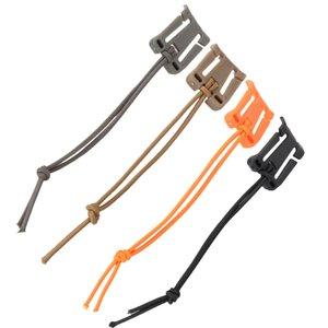 5 unids / set mosquetón Edc exterior mosquetón Clip Winder para asegurar correas de nylon accesorios de escalada