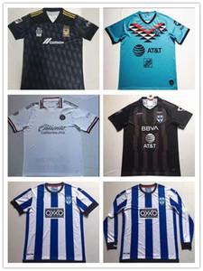 20 Rayados Monterrey Fußball Jerseys 2019 Club America Klub-Weltmeisterschaft 2020 Chivas Pizarro Maximiliano Tigres UANL lange Hülse Fußballhemden