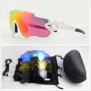 Nuovo 5 lenti fotocromatiche in bicicletta Eyewear Uomo Donna della bicicletta Sunglass di sport esterno della MTB Occhiali polarizzati lente Occhiali da sole YEE