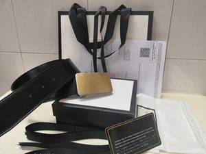 2020 с коробкой мужская женщина роскошный пояс дизайнер топ ремни новая большая пряжка мужской ремень мода Оптовая Бесплатная доставка