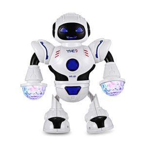 ХТ - 01 ягнится электронный умный робот танцев космоса с диаграммами игрушки действия света Сид музыки