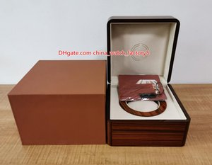 Hot Selling High Quality PP Nautilus Watch Brown Original Box Papers Card Wood Boxes Handbag For Aquanaut 5167 5711 5712 5990 5980 Watches