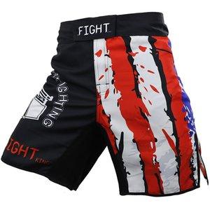 Muay Thai Shorts Mens BJJ Pants Kick Boxing Shorts Motion Clothing Loose Size Training Kickboxing