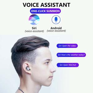 Brand New Wireless Earbuds F9 TWS Botão Modelo Bluetooth 5.0 2000mAh Power Bank para Samsung Galaxy iPhone 11 Pro Max