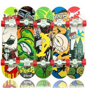 Finger Skateboard Creative Cartoon Finger Skateboard Exquisite New Strange Children's Toy Frosted Skateboard Toys