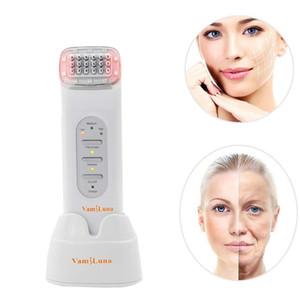 Le soin de visage de machine de masseur de fréquence radio de rf enlèvent le dispositif de levage facial et l'instrument de beauté anti-vieillissement facial de matrice de points