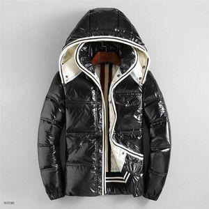 Roupa de Luxo Jackets Men Mens Designer Jacket Brasão Hoodie Outono Inverno de Down Windbreaker Marca Jacket Zipper bolso Grosso Outdoor