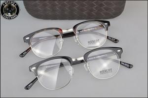 새로운 도착 retro 빈티지 브랜드 Moscot YUKEL 조니 depp 처방 안경 광학 안경 스펙터클 프레임