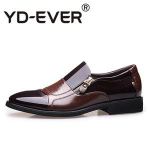 Herren Loafers New Fashion Oxford Business Herren Schuhe Hochwertige Weiche Casual Herren Wohnungen Zip Schuhe Atmungsaktiv