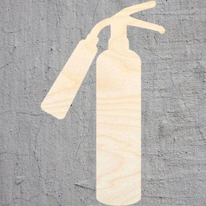 fire extinguisher silhouette Laser Cut Out Wood Shape Craft Supply Unfinished Cut Art Projects Craft Decoration Hand Tools Tools Gift Decou