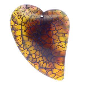 Pronto per la spedizione In stock Spedizione veloce gioiello unico gioielli fai da te personalità creativo multicolor cuore di pesca agata pietra pendente collana accesso