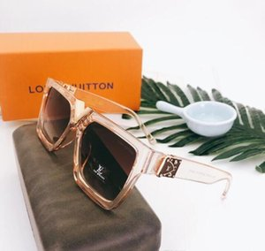 2020 Fashion Sunglasses Classic Retro Frame Glass Lens UV400 Protection Eyewear With Leather Case free shipping