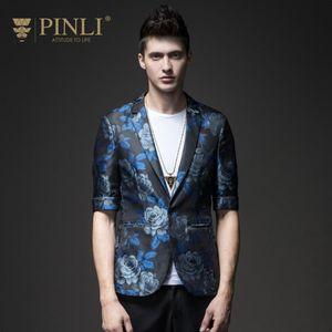 Free shipping New fashion casual men's male gentleman Autumn printed blazer jacquard single western-sleeved jacket S181206265
