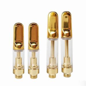 Personalizzato punta ceramica Th105 vetro ceramica testina a bobina 510 Oro atomizzatore concentrato Spesso olio vaporizzatore .5ml 1ml Fit M3 batteria mod Imini