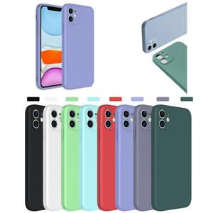 2020 neue Flüssig-Silikon-Kasten für Iphone SE 2020 XS MAX 11 PRO 6 7 8 Plus XR HUAWEI P40 Lite Mate-30 Nova 6 5G Weiche Stoß- Back Cover