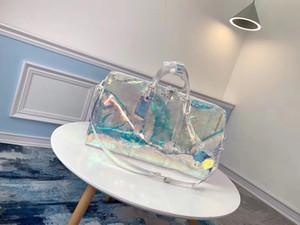 캔버스 여행 가방 여성 남성 대용량 접이식 더플 백 주최 큐브 수하물 소녀 주말 가방
