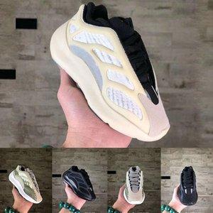 700 nouvelles V3 ALVAH Nourrissons enfants Chaussures de course Filles espadrille enfants Little Boys Azaël Noir Kanye West Formateurs de basket-ball