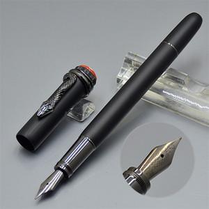 Ограниченное издание 110 лет со дня Наследование серии Matte Black Классическая AU750 Snake Nib авторучка Роскошные Роллер ручка Шариковые ручки