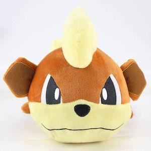 24cm Anime Growlithe cão brinquedos de pelúcia de presente de aniversário de criança Stuffed Animal Plush Boneca bonito macio dos desenhos animados