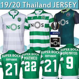 19 20 Sporting Clube de Portugal Sporting CP Lissabon Fußball Trikots PHELLYPE 2019 2020 FERNANDES Fußball Trikot LISSABON DOST SOCCER JERSEY