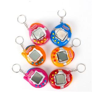 Jogo Animais Em virtual Items Pet do Cyber Novidade Tamagotchi retro engraçado Brinquedos Vintage eletrônicos digitais da Criança Chaveiros Brinquedos