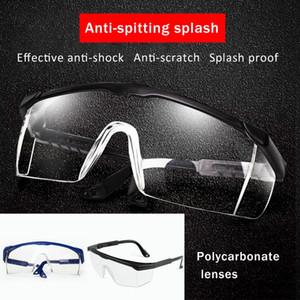 Güvenlik gözlükleri Iş gözlükleri anti-rüzgar anti-kum Anti Sis Anti toz dayanıklı şeffaf gözlük koruyucu gözlük