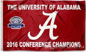Alabama Crimson Tide Roll USA Team Flag Banner 150CM * 90CM 3*5FT полиэстер изготовленный на заказ баннер спортивный декоративный флаг