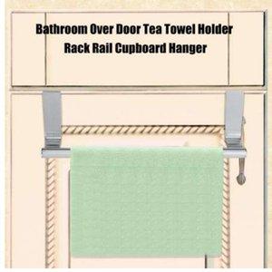 23 / 36cm Towel Bar Drawer Towel Hanging Rack Storage Holder Over Door Portasalviette Cucina Cabinet Porta gancio Holder