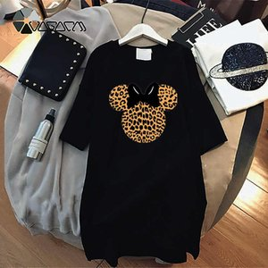 Fashion Women Designer T Shirt Dresses Summer New Arrival Womens Printed T Shirts Dresses Casual Tees Dress Size M-4XL