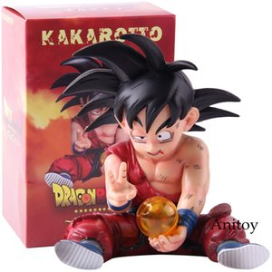 Kakarotto Сон Гоку Dragon Ball Z ПВХ Рисунок Go Ku Dragon Ball Z Аниме Фигурка фигурку Коллекционная модель игрушки Y191105