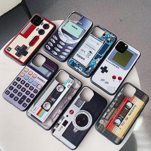 Designer Case drôle souple TPU pour iPhone 11 pro max Contrôleurs de jeu pour iPhone xs max batterie de téléphone portable en silicone couverture arrière cas